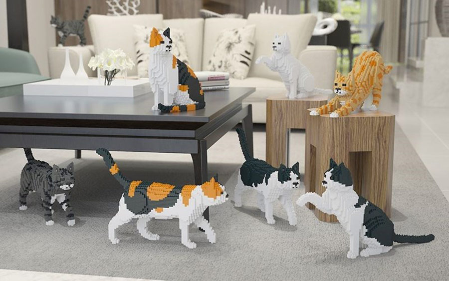 lego cats Jekca, gifts for pet lovers